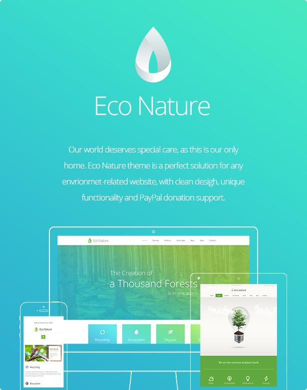 Środowisko ekologiczne przyrody